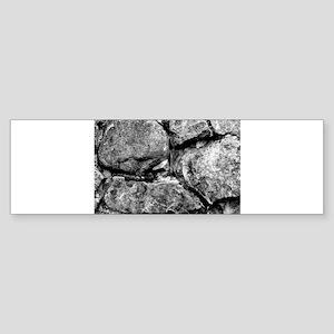 Stone faces Sticker (Bumper)