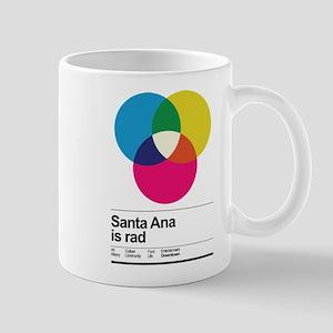 Santa Ana is rad. Holiday Edition. Mug