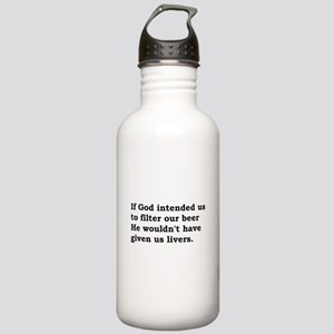 If God intended us...... Stainless Water Bottle 1.