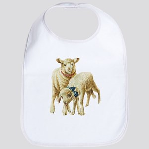 Lamb drawing Bib