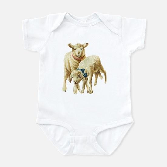 Lamb (Front only) Infant Bodysuit