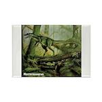 Herrerasaurus Dinosaur Rectangle Magnet
