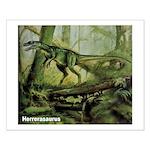 Herrerasaurus Dinosaur Small Poster