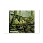 Herrerasaurus Dinosaur Mini Poster Print