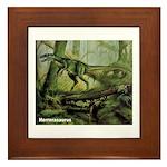 Herrerasaurus Dinosaur Framed Tile