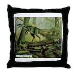 Herrerasaurus Dinosaur Throw Pillow