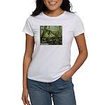 Herrerasaurus Dinosaur (Front) Women's T-Shirt
