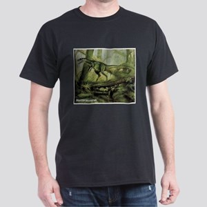 Herrerasaurus Dinosaur (Front) Dark T-Shirt