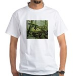 Herrerasaurus Dinosaur White T-Shirt