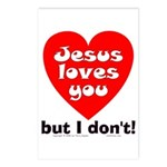 Jesus/But I don't! Postcards (Package of 8)