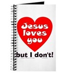 Jesus/But I don't! Journal