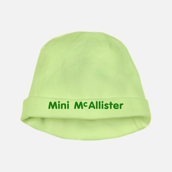 Mini McAllister baby hat