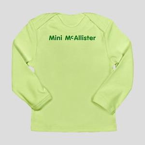 Mini McAllister Long Sleeve Infant T-Shirt