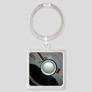 RPM Square Keychain