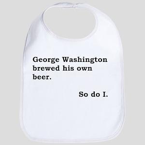George Washington Beer Bib
