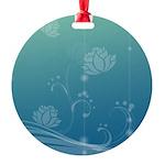Lotus Round Ornament