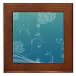 Lotus Framed Tile