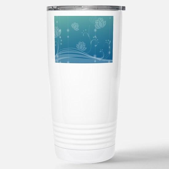 Lotus Stainless Steel Travel Mug