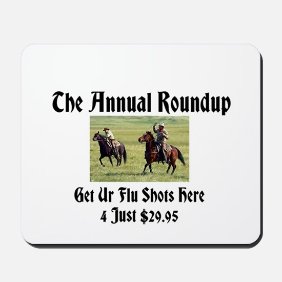 The Annual Roundup Mousepad