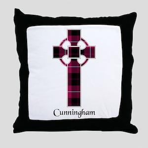 Cross - Cunningham Throw Pillow