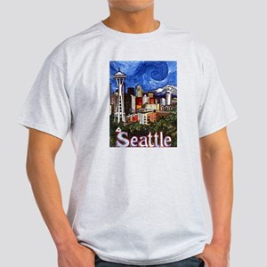 Seattle Skyline Light T-Shirt