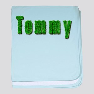Tommy Grass baby blanket