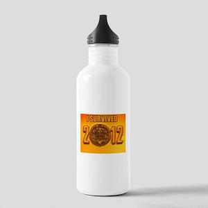 Mayan Calendar Stainless Water Bottle 1.0L