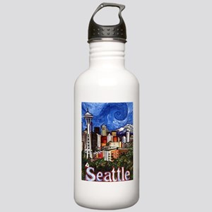 Seattle Skyline Stainless Water Bottle 1.0L