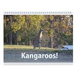 Kangaroo Wall Calendar