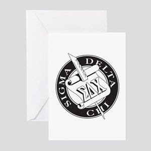 Sigma Delta Chi Greeting Cards (Pk of 20)