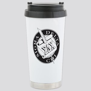 Sigma Delta Chi Stainless Steel Travel Mug