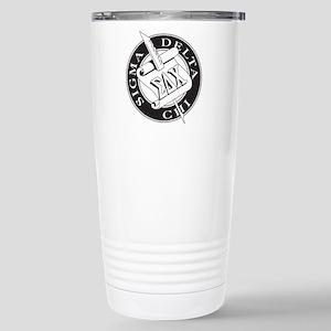 Sigma Delta Chi Stainless Steel Travel Mug