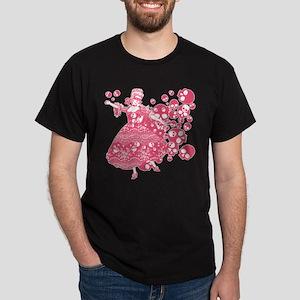 Pink Skull Dancer Dark T-Shirt
