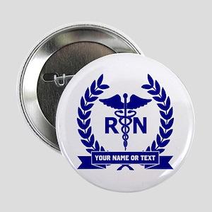 """RN (Registered Nurse) 2.25"""" Button"""