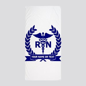 RN (Registered Nurse) Beach Towel
