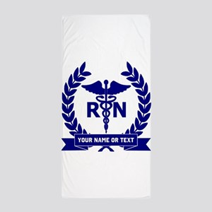 RN (Registered Nurse) Beach Towel