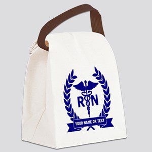 RN (Registered Nurse) Canvas Lunch Bag