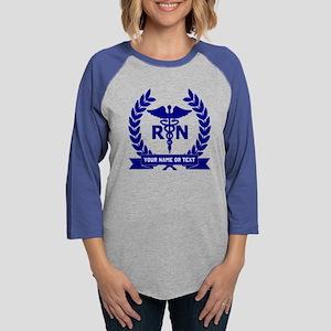 RN (Registered Nurse) Womens Baseball Tee