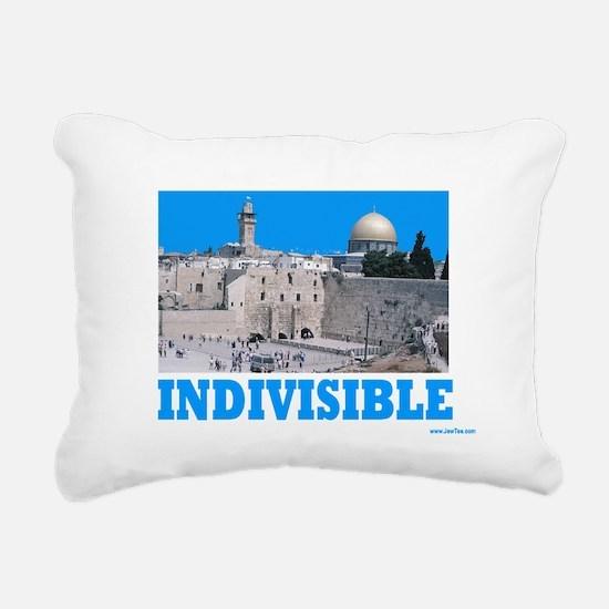INDIVISIBLE Jerusalem Rectangular Canvas Pillow