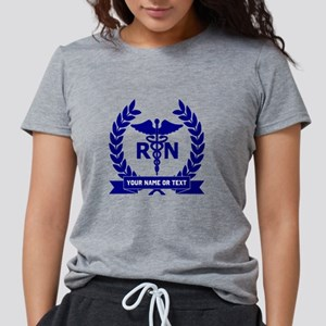 RN (Registered Nurse) Womens Tri-blend T-Shirt