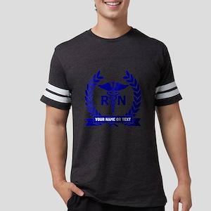 RN (Registered Nurse) Mens Football Shirt
