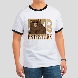 Estes Park Grumpy Grizzly Ringer T