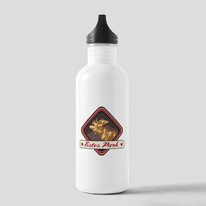 Estes Park Pop-Moose Patch Stainless Water Bottle