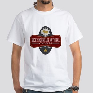 Rocky Mountain Natural Marquis White T-Shirt