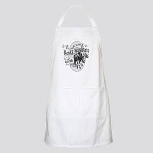 Rocky Mountain Vintage Moose Apron