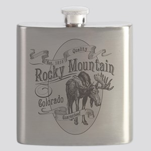 Rocky Mountain Vintage Moose Flask
