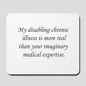 Your Imaginary medical expert Mousepad