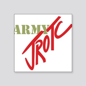 "Army JROTC Square Sticker 3"" x 3"""