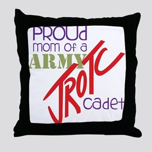 Proud Mom Throw Pillow
