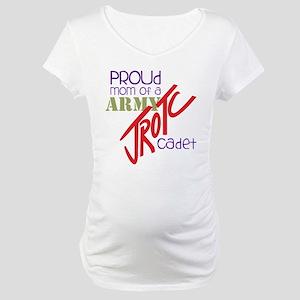 Proud Mom Maternity T-Shirt